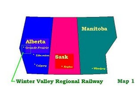 Winter Valley Regional Railway Map 1