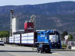 Moving lumber, cement (and a little oil) in Kelowna – 2